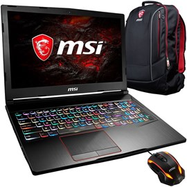 "MSI GE63 7RD-011XTR Raider Core i7-7700HQ 16GB 256GB SSD 1TB GTX1050 Ti 4GB 15.6"" Full HD 120Hz 3ms FreeDOS"