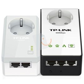 TP-LINK TL-WPA4230P KIT AV500 Passthrough Powerline WiFi Kit