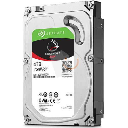 Seagate ST4000VN008 IronWolf 4TB 64MB 5900Rpm 3.5' SATA 3 NAS 180MB/s