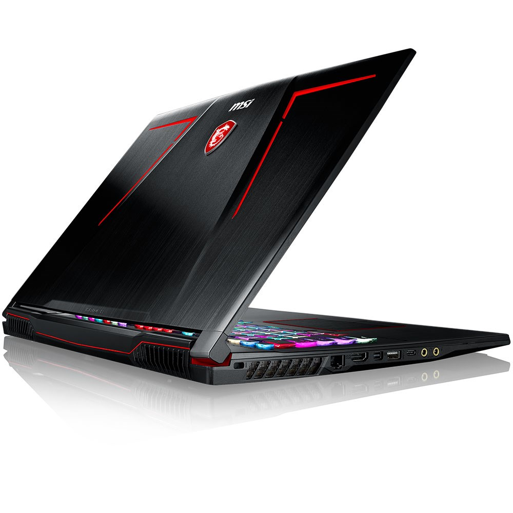 "MSI GE73 7RD-013XTR Raider Core i7-7700HQ 16GB 256GB SSD 1TB GTX 1050 Ti 4GB 17.3"" Full HD 120Hz 3ms FreeDOS (hediyeli)"