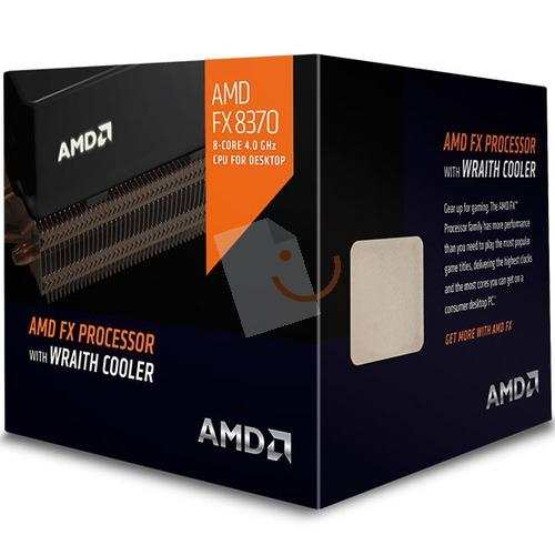 AMD FX-8370 Wraith Black Edition 4.3GHz 8MB 125W AM3+ İşlemci