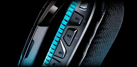 G633 gaming headset G-Key detail