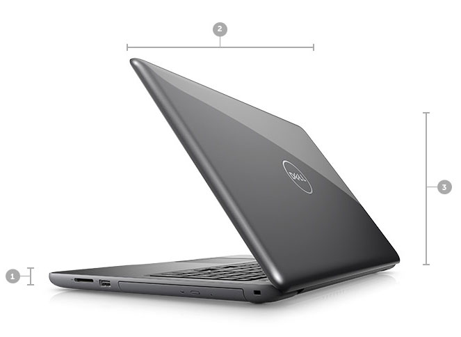 inspiron-15-5567 Dimensions & Weight