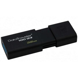 Kingston DT100G3/32GB DataTraveler 100 G3 32GB Usb 3.0/2.0 Flash Disk