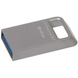 Kingston DTMC3/64GB DataTraveler Micro 3.1 64GB Usb-USB 3.1 Flash Bellek