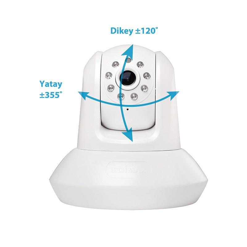 Edimax IC-7112W Smart HD Wi-Fi Pan/Tilt Network Camera Day & Night