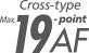 19 noktalı AF sistemi